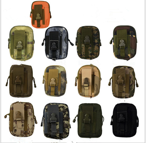 Universal Sporty outdoor sports molle waist pack fanny Camo Bag belt bags EDC Camping hiking running pouch wallet toys new arrival