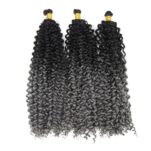 Freetress Water Wave Bulk Synthetic Curly Hair Extensions Weaves Water Wave braidiing Hair Extensions Deep Curly Twist Braids