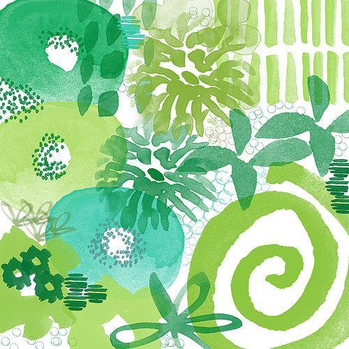 green-garden-abstract-water abstract-art Pittura Moderna contemporanea tela arte vera pittura a olio a mano propria vita Top qualità migliore Sellin