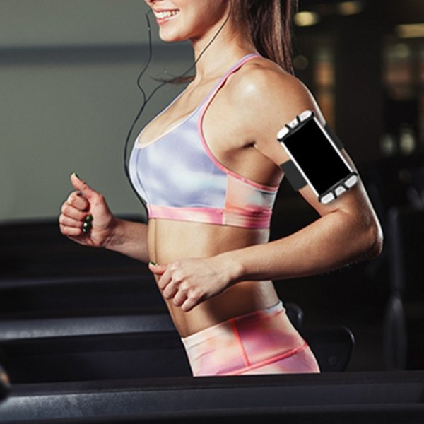 Running Sport Armband Adjustable Armband Breathable Sweat-proof Cell Phone Cycling Jogging Walking Wrist Band Bag