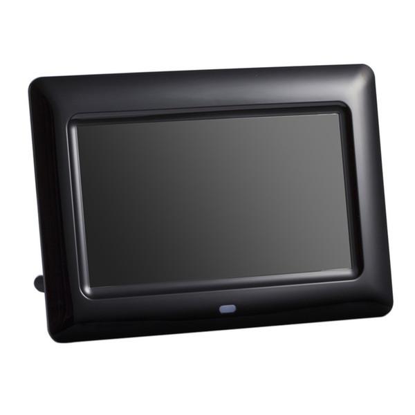 7 pollici Schermo 800X480 Full Function Digital Photo Frame Orologio Lettore video musicale con telecomando Cornice per album elettronico