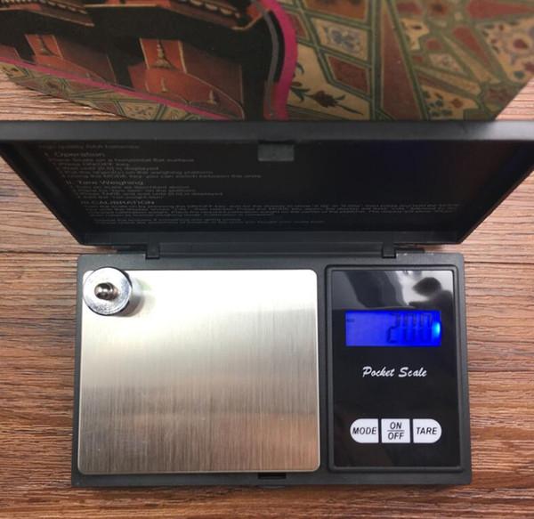 Escala Mini Digital Pocket 0.01 / 200 g de plata moneda de oro joyería Pesar balanza electrónica digital LCD Equilibrio escala de la joyería