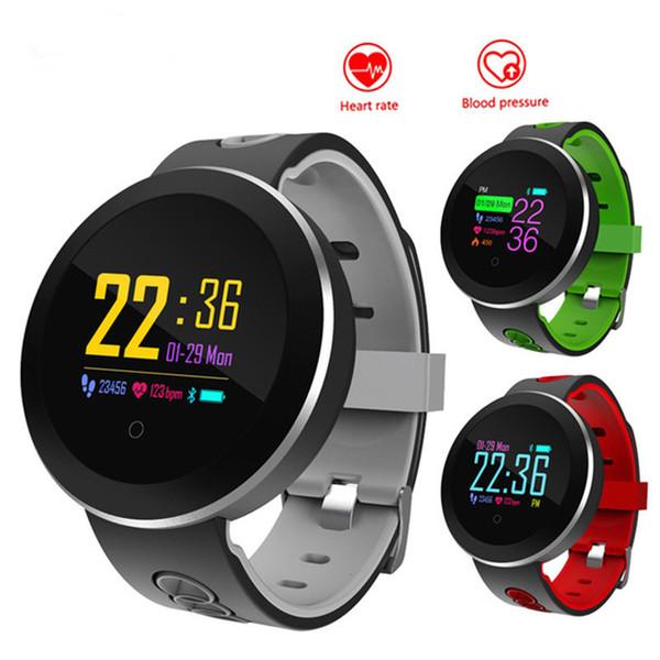 Q8 Pro Smart Band Support Heart Rate Blood Pressure Oxygen Monitor IP68 Waterproof Fitness Tracker Smart Bracelet Watch