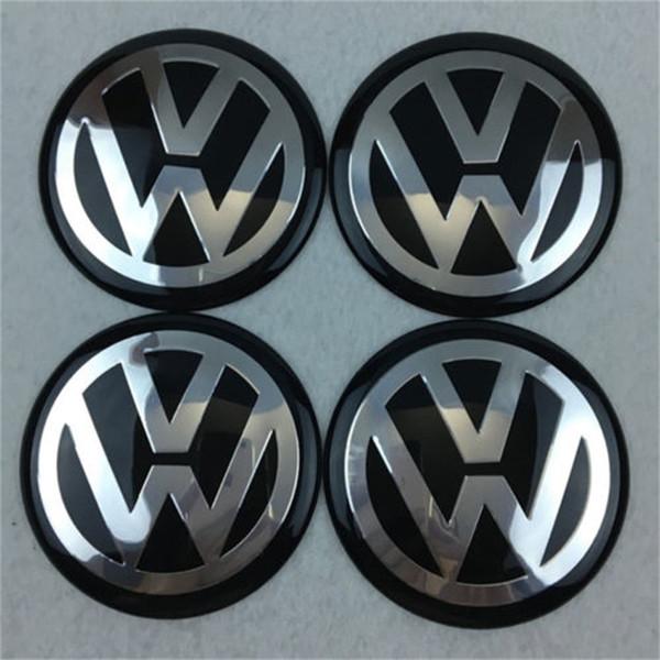 2018 Wholesale items Sale 65mm Car Wheel Cover Badge Wheel Hub VW Center Caps Emblem For VW 2010 TOUARET