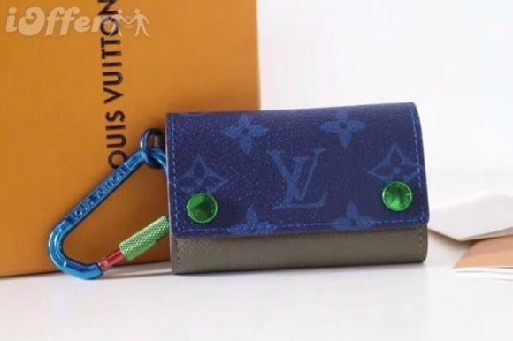 MEN WOMEN CANVAS KEY BUCKLE FASTENER PURSE BAG wallet purse Belt Bags Mini Bags Clutches Exotics