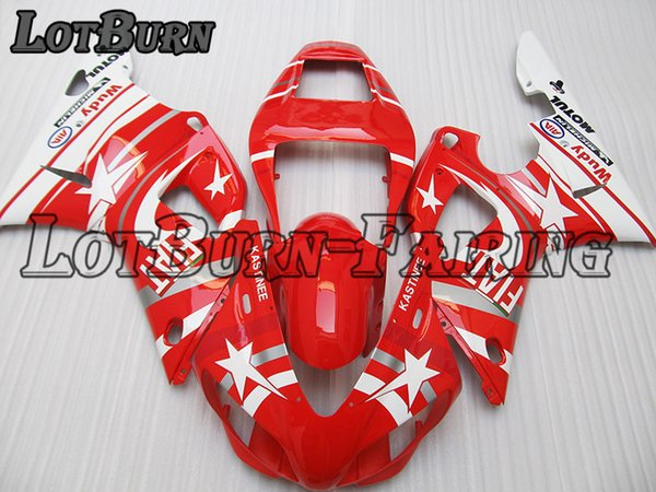 Fit For Yamaha YZF R1 YZF-R1 YZF1000 R1 1998 1999 98 99 Motorcycle Fairing Kit High Quality ABS Plastic Injection Molding Custom Made C737