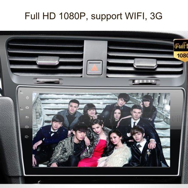 Lettore DVD per auto Android 8.1 per schermo GPS capacitivo da 10,1 pollici per navigazione gps per auto