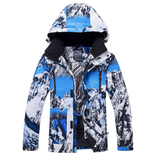 New Hot Men Ski Jackets Winter Outdoor Thermal Waterproof Windproof Snowboard Jackets Climbing Male Snow Skiing Sport Clothes