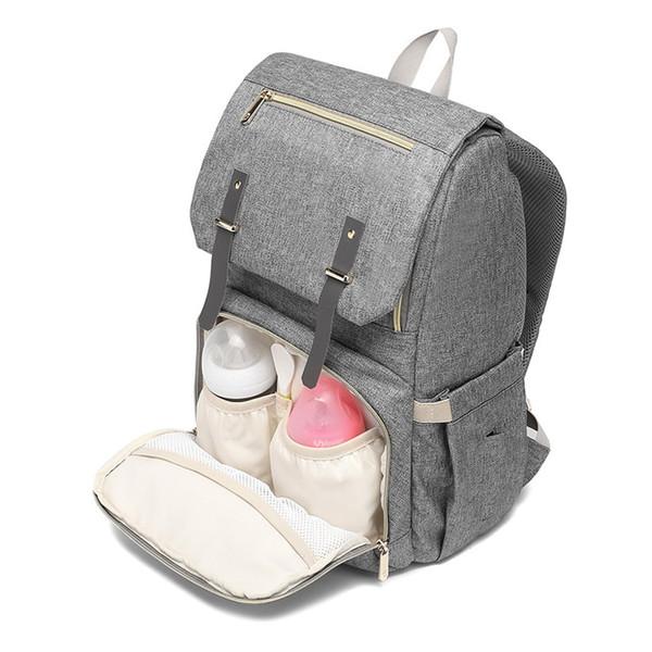 Borsa multifunzionale della borsa del pannolino della maternità Borsa a tracolla della borsa di maternità con lo zaino di professione d'infermiera di immagazzinaggio dello zaino di viaggio del porto di carico
