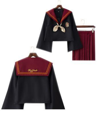 786be2ff2b This year's latest Japanese student JK uniform Cosplay uniforms sailor suit  Harry Potter pleated skirt suit