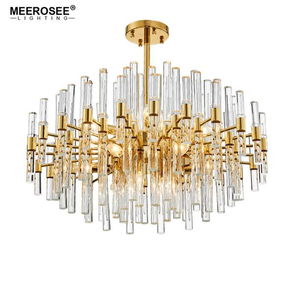 Nouvelle arrivée lustre éclairage lustre en cristal luminaire luminaire doré lustre pour salle à manger salon lampe