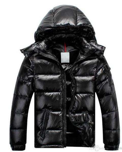Brand New Men Women Casual Daunenjacke MAYA Daunenjacke Herren Outdoor Pelzkragen Warm Federkleid Mann Wintermantel outwear Jacken Parkas