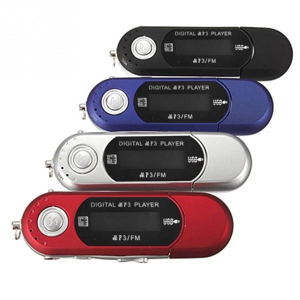 Petite Taille Haute Qualité Nouveau Lecteurs MP3 USB 2.0 Flash Drive Memory Stick LCD Mini Sport MP3 Lecteur de Musique avec FM Radio Voiture Cadeau