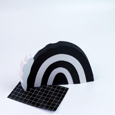 black & white 22*16*2.5cm