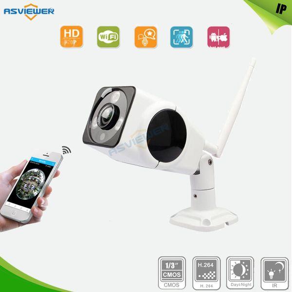 HD 960P Wifi Camera IP Outdoor 360 Degree Fisheye Security Camera 1.3MP P2P IR Network Waterproof IR Bullet Camera AS-IP8313W