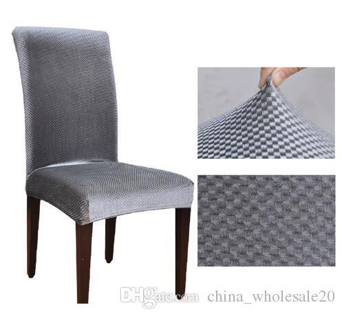 Swell Factory Direct Jacquard Spandex Stretch Dining Chair Covers Machine Washable Restaurant For Weddings Banquet Folding Hotel Chair Cover Cheap Chair Machost Co Dining Chair Design Ideas Machostcouk
