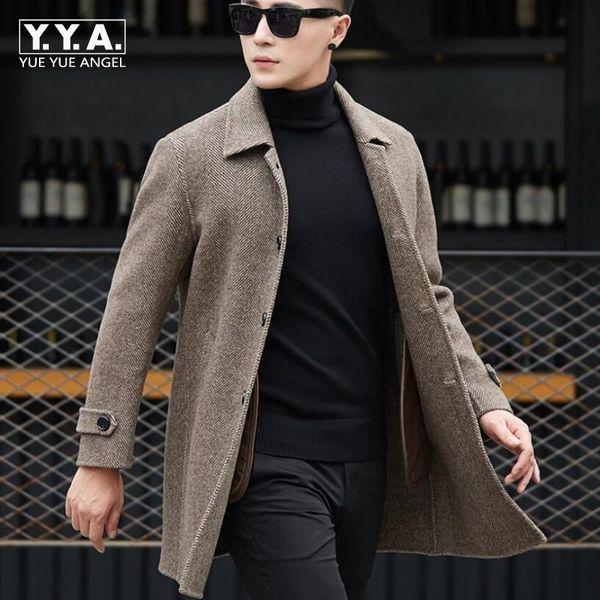 Jacke Double Classic British Wollmantel Arbeit Vikey08 Fit Winter Faced Wolle Qualität 3xl Mens Großhandel Büro Male Hohe Mantel Business Von Slim tshCrdxQ