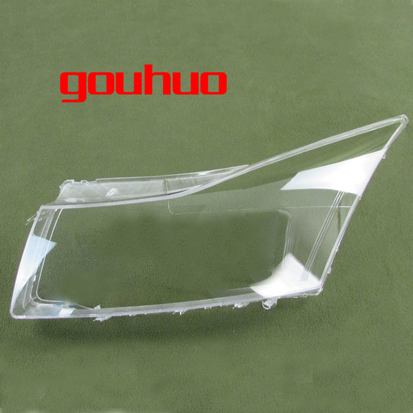 transparent lampshade lamp shade front Headlight shell headlamp cover lens glass For Chevrolet Cruze 09-13 1pcs