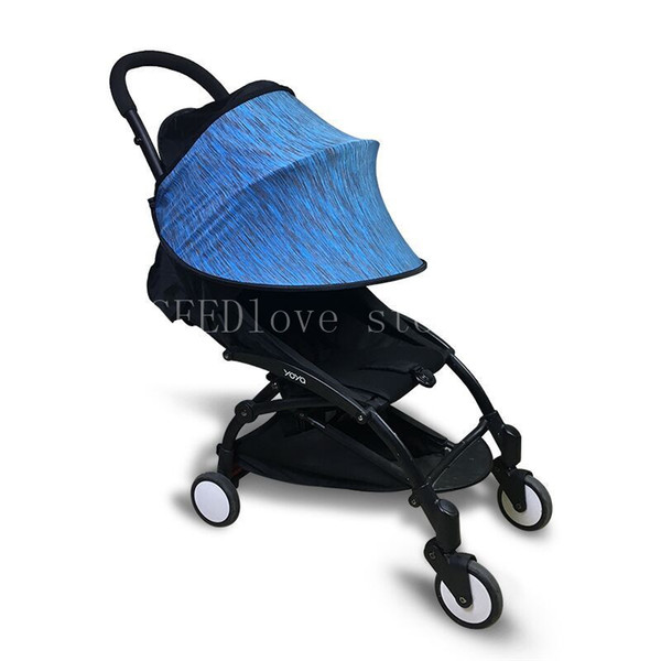 kidstravel Baby Stroller Awning Sun shade to carriage Canopy Shield Anti UV Sun Visor Cover Pram Accessories Car Seat Buggy Cap