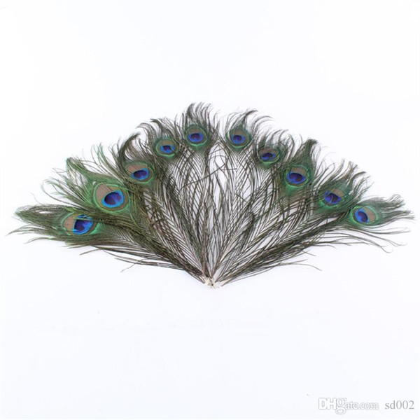 Natural Peacock Feather Lifelike Vivid Hand Made Ornament Creative For Elegant Wedding Decoration Crafts Top Quality 0 57yx BB