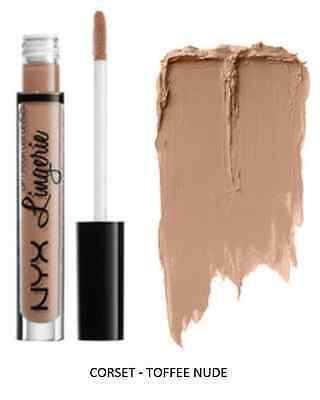 In Stock!!!NYX lip lingerie liquid Matte Lip Cream Lipstick 12 colors Charming Long-lasting Brand Makeup Lipsticks Lip Gloss free shipping
