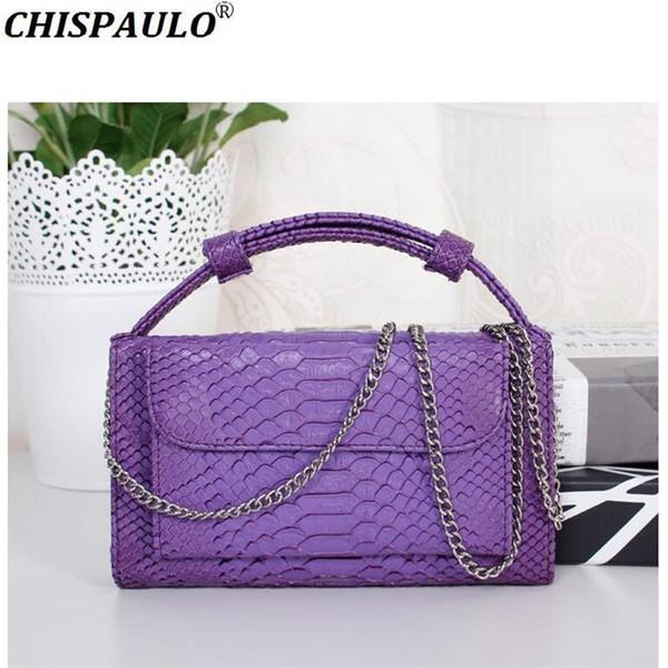 Genuine Leather Women's Handbag 2018 Luxury Designer Fashion Brand Western Style Messenger Shoulder Bags Female Party Clutch Bag