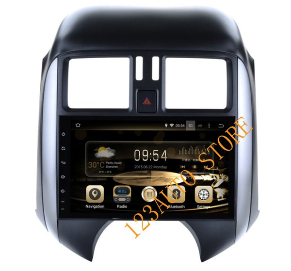 10.1 inch Android 8.0 7.1 eight Octa core Car CD DVD GPS Player NAVIGATION AUTO 4G RAM 32G for SUNNY 2011-2013