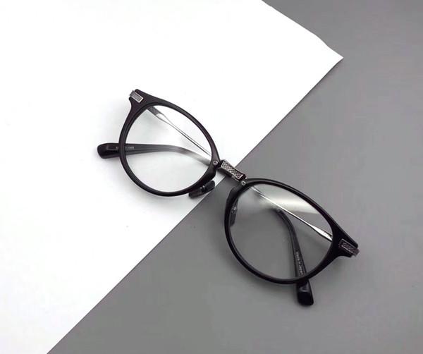 High quality Round glass frame Fashion Men Women Retro Nerd Glasses Clear Lens Eyewear Unisex Retro Eyeglasses Spectacles