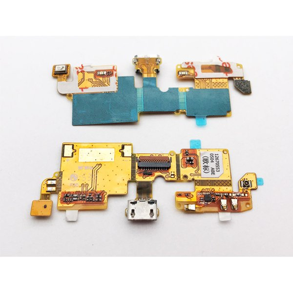 Usb Power Charging Port Dock Connector Flex Cable For Zte Blade V6 / Blade  X7 / Blade D6 Mobile Repair Parts Mobile Replacement Parts From Subin18,
