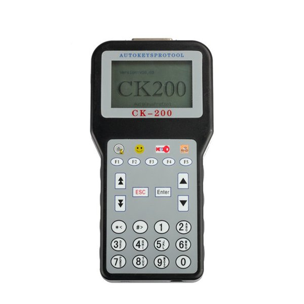 CK-200 Professional Auto Key Programmer No Tokens Limited Updated Version of CK-100 Added More Car Models