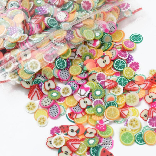 Slime Kit DIY Fishbowl Beads Colorful Styrofoam Foam Balls Fruit Splice for Slime Toys Novelty Making Art Craft Fish Tank Decor
