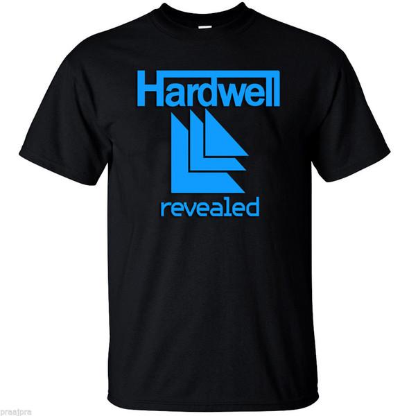 2018 Hochwertige DJ HARDWELL REVEALED TRANCE Vol. 7 T-Shirt Oansatz Fashion Printed Herren Baumwolle T-Shirt Rundhals Herren