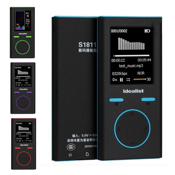 New MP3 MP4 Player Mini Game MP4 4G 8G Outdoor Sport MP3 Radio Music Slim Game Player Recorder Walkman