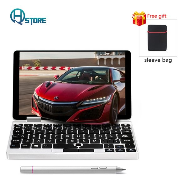 ONE NOTOne Mix 7 Inch Pocket Laptop 8/128GB Windows 10 Quad Core with Backlit Keyboard Build in Infrared Induction Mouse