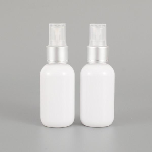 Fine Mist Spray Bottle 2 oz// 60ml Plastic Spray White Bottles 5pcs