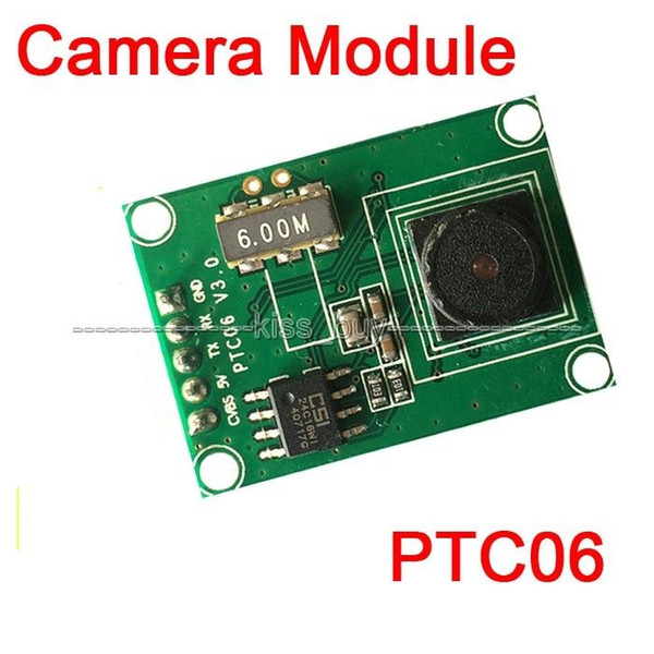 Freeshipping Miniature PTC06 Serial JPEG Camera Module CMOS 1/4 inch TTL/UART Interface MRY