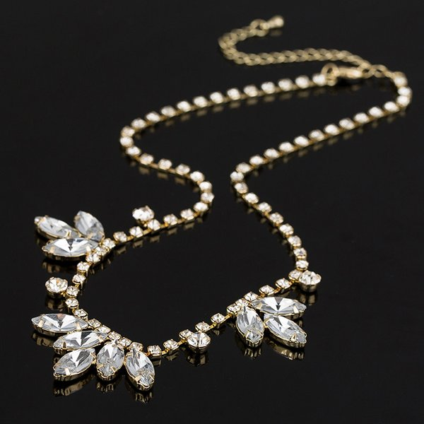 12 Sets,Orchid style Inlaid Austria crystal necklaces Pendant from Swarovski Crystal Pendant Glittering Boutique women Elegant Necklace