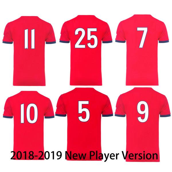 Giocatore versione Jersey Pullover di calcio Uomini 2019 Nuova maglia di calcio di qualità tailandese Munich Bayern Jersey Uniformi di calcio Maglietta Top Kit