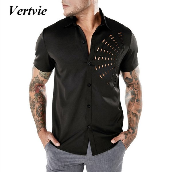 Vertvie Running T-shirts Fitness Tight Tennis Soccer Gym Sportswear Quick Dry Compression Men's Short Sleeve Running Shirt 2018