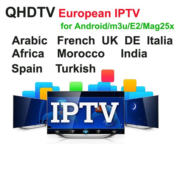 12 mesi QHDTV Arabic Sports Germania 1300+ Europa IPTV Arabo Iptv Canali Streaming IPTV Account Apk Work su PC Android M3U MAG250 254