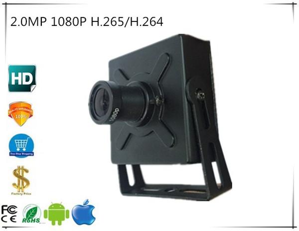 Mini caméra IP 2.0MP 1080P H.265 / H.264 1920 * 1080 1.7mm FishEye Panorama 2.8-12mm Zoom manuel Toutes couleurs ONVIF CMS XMEYE