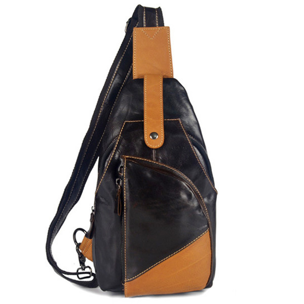 eb05bd2677 Hot Top Quality Men First Layer Cowhide Messenger Shoulder Cross Body Bag  Real Genuine Leather Travel