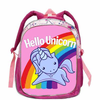 a5e9de9ac2 Kids LOL Doll School Bag Pink LOL Pets Dolls glitter series 4 Book Bags  Backpack for Girls Cute Custom unicorn Printed Schoolbag