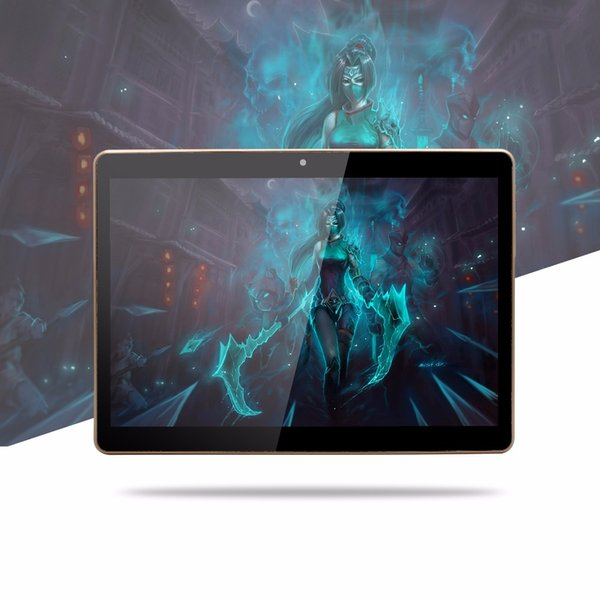 10 Zoll Octa-Kern 2017 Ursprüngliches leistungsfähiges Android 7.0 Tablette-Pc 4G RAM 64G ROM IPS Doppel-SIM-Karte Telefon-Anruf-Tab
