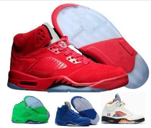 Cheap Basketball Shoes 5 5s V Mens Red shoe Ducks Grape Peel Wings Cement Classic Designer Tennis Sport Shoe Sneakers