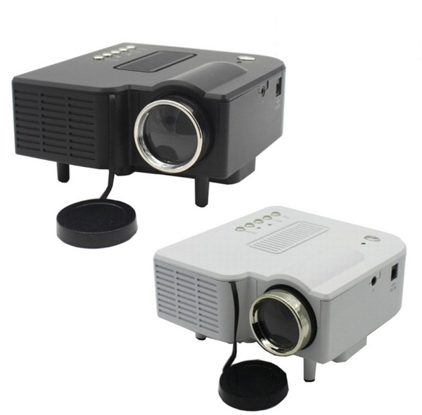 Yeni UC28 UC28 + taşınabilir pico led mini HDMI video oyun projektörü dijital cep ev sinema projetor proyector için 80
