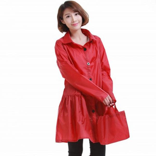 Hooded Raincoat Waterproof Women Poncho Cloak Rain Cape Capa De Chuva Layer Pluie Adult Raincoat Impermeable Mujer QQG281