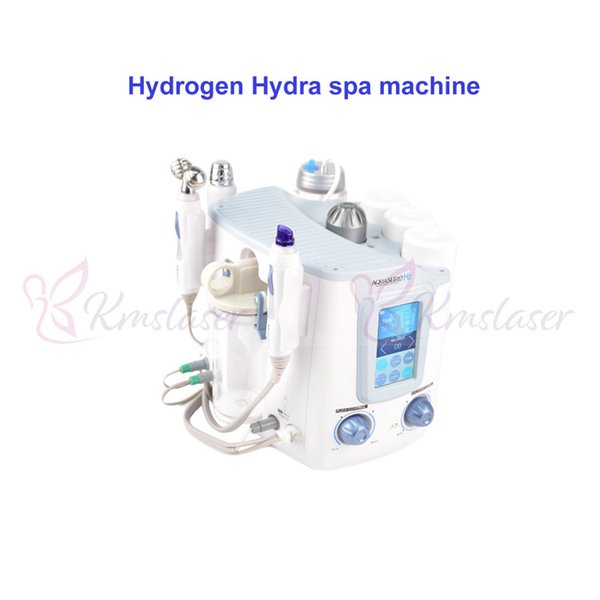 3 in1 Hydrogen Hydra SPA facial microcurrent Galvanic aqual skin peeling wrinkle removal beauty machine