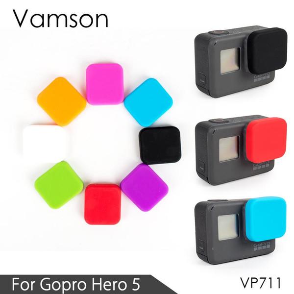 a3e55caff0193 Vamson para gopro hero 6 5 acessórios capa protetora silicone tampa da  lente da câmera para