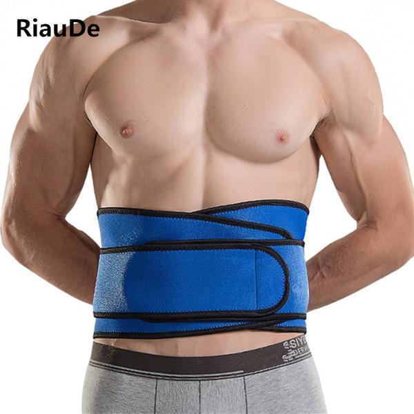 Men Waist Trainer Belt hot Shapers Belt High Elastic Fitness Weight Loss slimming Modeling Girdle Waist Support Tummy Sweat Belt